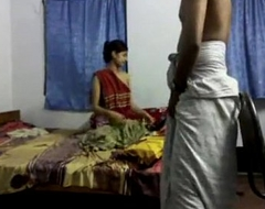 Cute Bengali Mishti Girl Fucked away from Lungi Wearing Economize in Various Positions