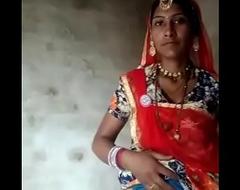 rajasthani aunty showing