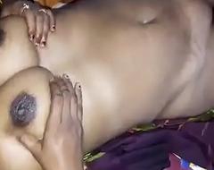 Horny Desi big interior wife give handjob  n hard gnaw press