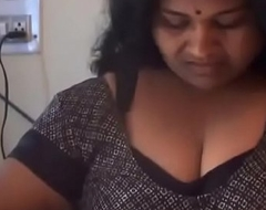 desimasala.co - Big Boob Aunty Laving and Showing Successful Wet Melons