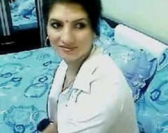 Sexy &amp_ Horny Swaggering Class Bhabhi Home Unescorted Chatting On Webcam