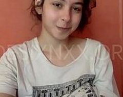 Super Erotic Punjabi College Girl Showing The brush Heavy Boobs